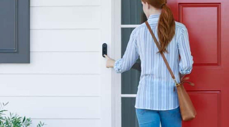 Welcome to your new front door.