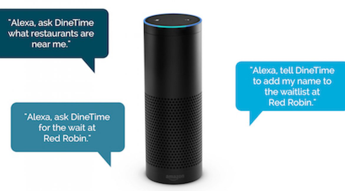 DineTime's Skill for Alexa Makes It Easier to Grab a Table at Your Favorite Restaurants