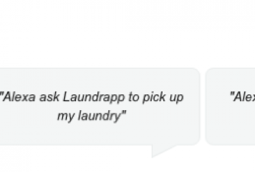 With Laundrapp's Alexa Skill, Customers Simply Ask Alexa to Take Care of the Laundry