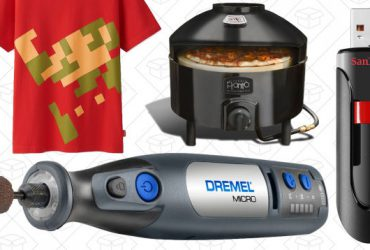 Today's Best Deals: 256GB Flash Drive, Cordless Dremel, Clear the Rack, and More