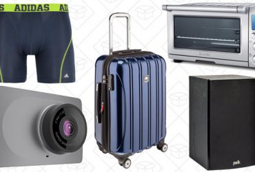 Saturday's Best Deals: Adidas Accessories, Yi Dash Cam, Breville Smart Oven, and More