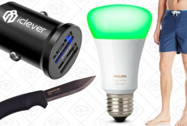 Today's Best Deals: Swimwear, Morakniv Knives, Philips Hue, and More