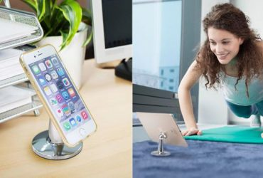 Make Your Phone Float With This $8 Magnetic Desk Stand