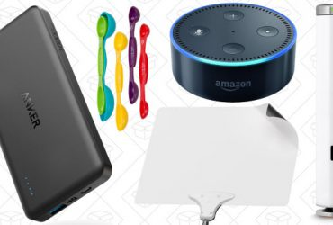 Today's Best Deals: Anker PowerCore II, Joule Sous-Vide, Mohu Leaf, and More