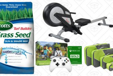 Sunday's Best Deals: Rowing Machine, Anker Powerline+, Lawn Care, and More
