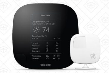 Amazon's Clearing Out the Fantastic Ecobee3 Smart Thermostat With a Huge Discount