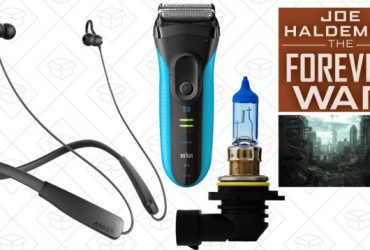 Today's Best Deals: Anker Neckbuds, Headlight Bulbs, SONOS Speakers, and More