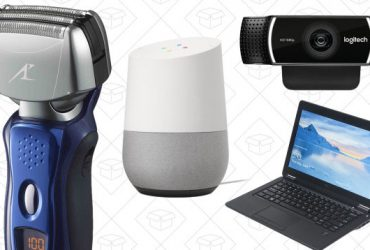 Today's Best Deals: Google Home, Logitech Webcam, Electric Shaver, and More