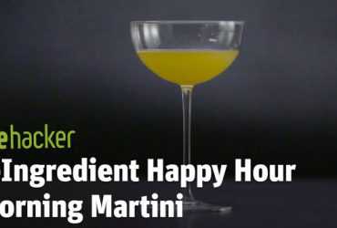 3-Ingredient Happy Hour: A Morning Martini