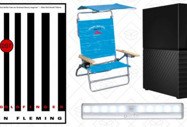 Saturday's Best Deals: Beach Chairs, James Bond Novels, Breville Oven, and More