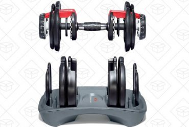 Flex Your Savings Muscles With Another Great Deal On Bowflex's SelectTech Dumbbells