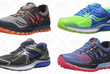 Hit the Pavement With Amazon's One-Day Sale on Saucony Running Shoes
