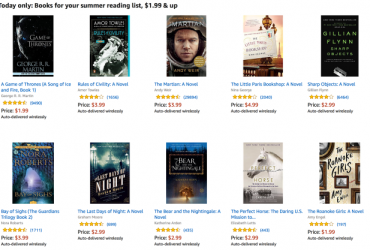 Get Game Of Thrones, The Martian, And More On Your Kindle For Cheap