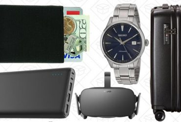 Today's Best Deals: Amazon Gift Card Reload, Oculus Rift, Watch Sale, and More