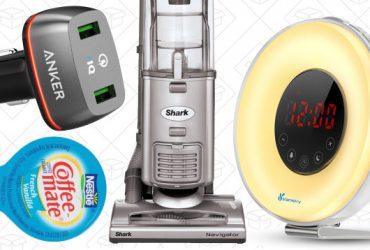 Sunday's Best Deals: Audible Memberships, Shark Navigator, Toilet Paper, and More