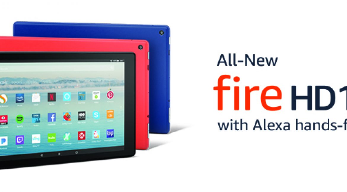 Introducing the All-New Fire HD 10