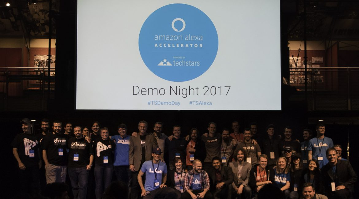 Demo Day! The Inaugural Alexa Accelerator Comes to a Close