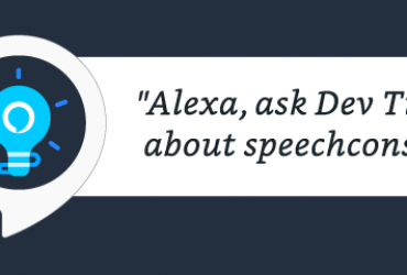 Introducing the New Dev Tips Skill for Alexa Skill Builders