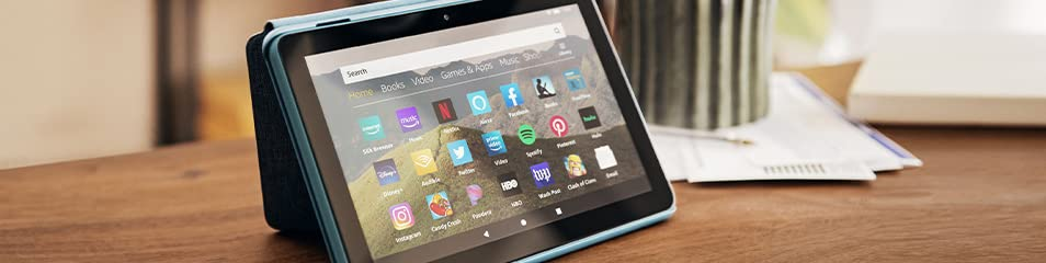 Rising demand and engagement for productivity apps on Amazon Fire Tablets