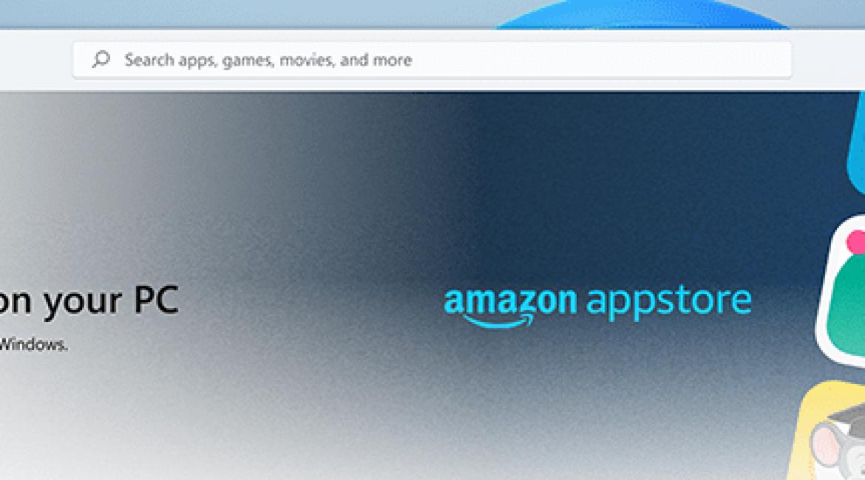 Microsoftの次期OS「Windows 11」がAmazonアプリストアをサポート(ローンチ時は米国のみでの展開)